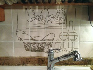 Back Splash-installed